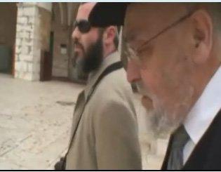 Rav Moshe Feinstein's Son in Law, Rav Moshe Dovid Tendler, Ascends the Har Habayit (Temple Mount)