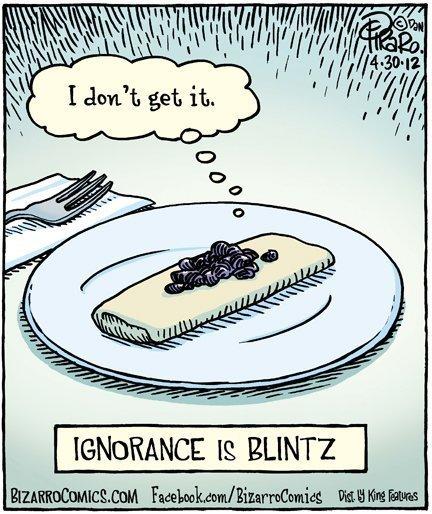 Ignorance is Blintz - Shavuous