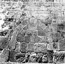 """Room 34 - The Single Gate, a gateway that led  into the """"basement"""" of the Bais HaMikdash"""