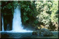 Israel Guide: Banyas Waterfalls