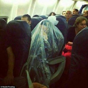 Image source: http://www.dailymail.co.uk/news/article-2307713/Pictured-Orthodox-Jewish-man-covers-PLASTIC-BAG-flight.html