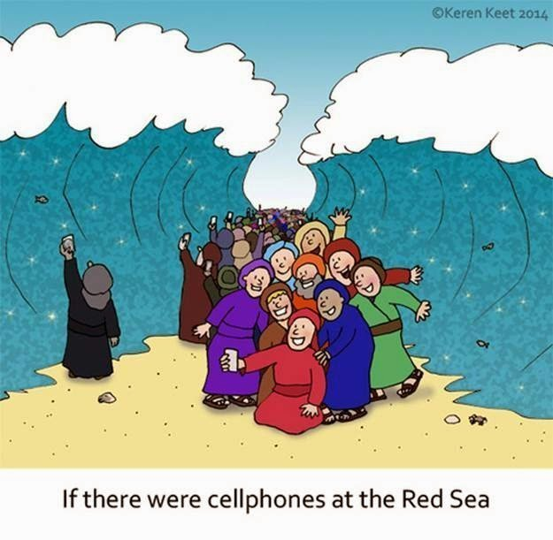 If There Were Cellphones In The Red Sea