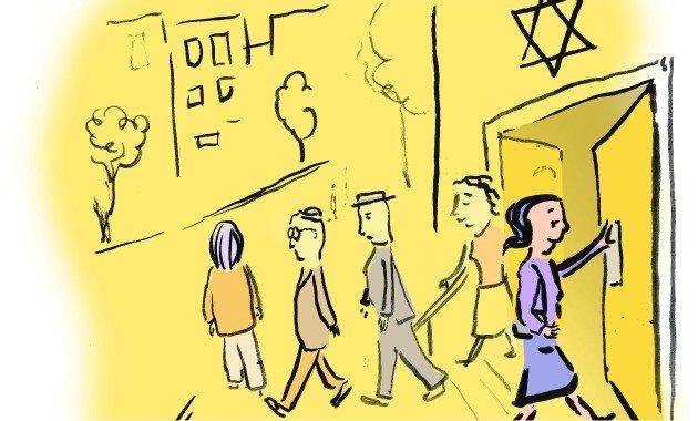 Photo courtesy of Kurt Hoffman of the Jewish Daily Forward
