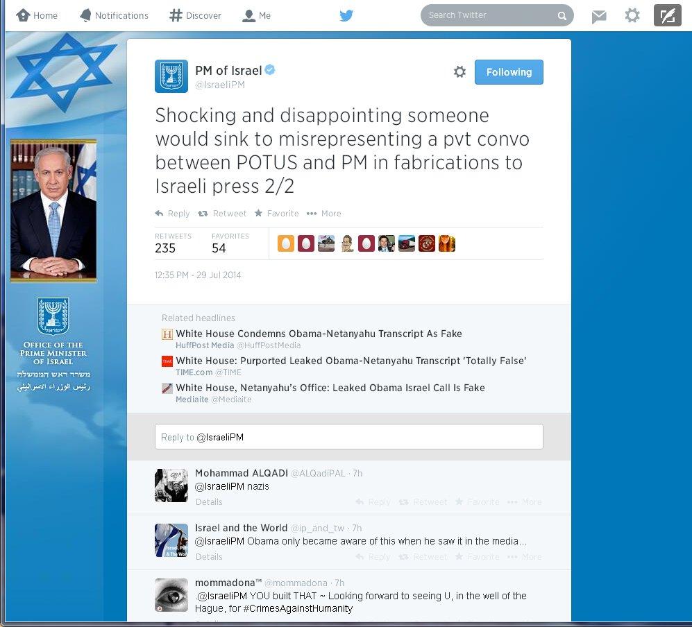 netanyahu-twitter-transcript-fake