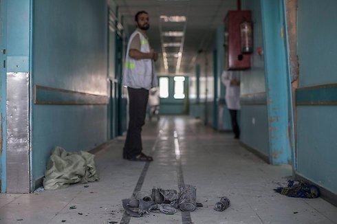 Al Wafa hospital (Photo: EPA)