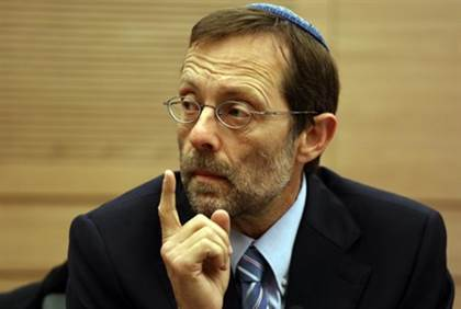 "Moshe Feiglin, with the ""Three Weeks"" beard."