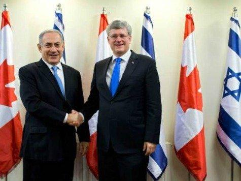 Netanyahu-Harper-ap