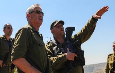 IDF Chief of Staff Lt.-Gen. Benny Gantz, June 24, 2014. Photo: IDF SPOKESMAN'S OFFICE