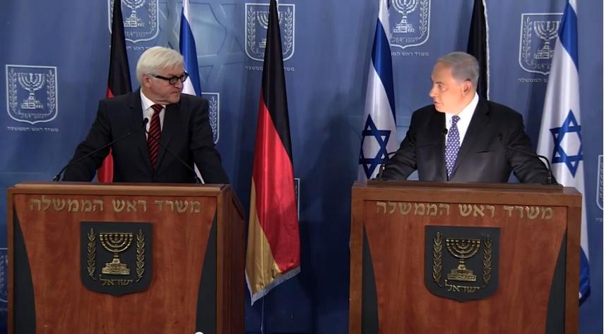 netanyahu-german-foreign-minister