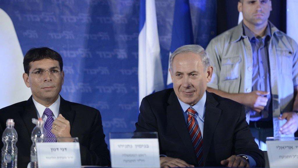 Prime Minister Benjamin Netanyahu, right, and Danny Danon (photo credit: Tomer Neuberg/Flash90)