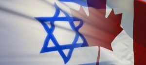 Canada-Israel-Flag