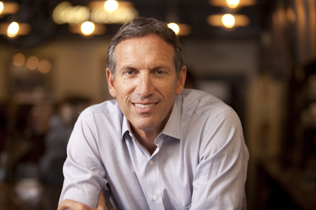 Howard Schultz revolutionized coffee drinking in the States, and expected to do the same in Israel (Courtesy Howard Schultz book photo)